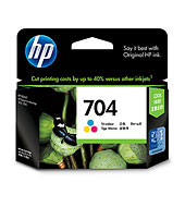 HP CN693AA #704 Tri-Color Ink Cartridge