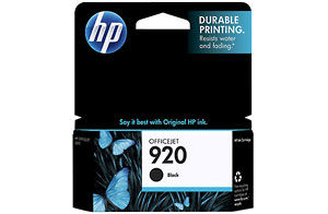 HP CD971AA #920 Black Ink Cartridge