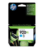 HP CD972AA #920XL Cyan Ink Cartridge