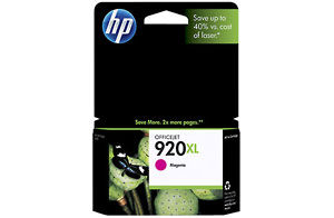 HP CD973AA #920XL Magenta Ink Cartridge