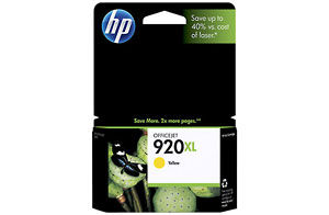 HP CD974AA #920XL Yellow Ink Cartridge
