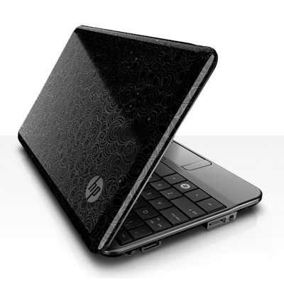 HP Mini 110-1013TU polished Black Swirl imprint finish (w/ P1,000 OFF)