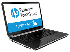 HP Pavilion Touchsmart 14-N054TX Silver Core i5-4200U 1.6GHz,4GB,500GB HDD,Win8 64bit