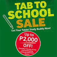 Samsung Tab to School Promo