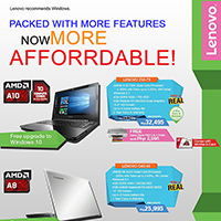 Lenovo AMD Free Canon 3-in-1 Printer Promo
