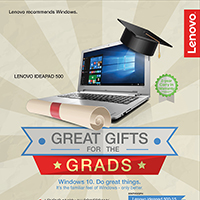 Lenovo Graduation Campaign - Great Gifts for the Grads