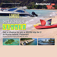 Lenovo Splash of Summer Promo