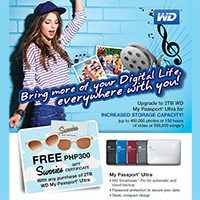 WD Increase Storage Capacity Promo