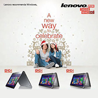 Lenovo A New Way To Celebrate Promo