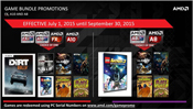 AMD 2C CONSUMER GAME BUNDLE PROMO