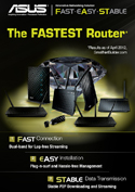 Asus The Fastest Router  Promo!!