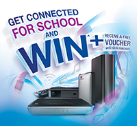 WD Get Connected for School and Win Promo!!!