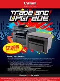 Canon Trade and Upgrade Promo