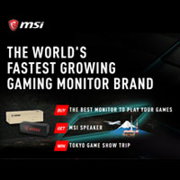 MSI Gaming Monitor Promo