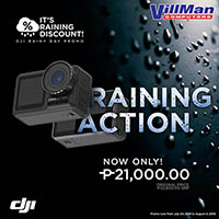 DJI Rainy Day Promo