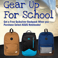 ASUS Gear Up for School Promo!!!