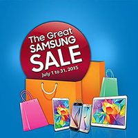 THE GREAT SAMSUNG SALE 2015