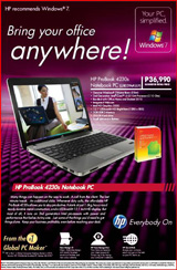 HP ProBook 4230s 12.1-inch Notebook PC! with Genuine Windows® 7 Home Basic and Office Home and Student 2010