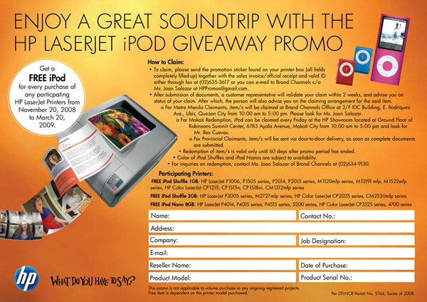 Ipod discount coupons