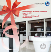 Formal Opening of Our HP Premium Concept Store - MEGAMALL