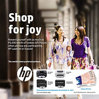 HP SHOP for JOY Promo!!!