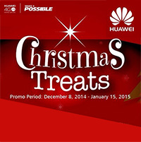Huawei Christmas Treats