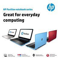 HP Pavilion Notebook Series Bundling Promo