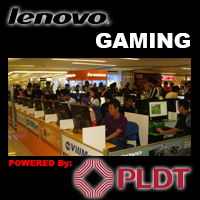 New DSL Line powered by PLDT at Lenovo Gaming Center in SM Megamall