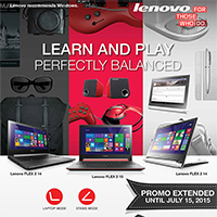 LENOVO BACK TO SCHOOL PROMO
