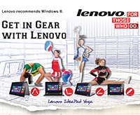 GET in GEAR with Lenovo!!!