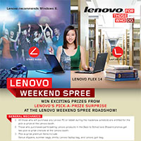 LENOVO WEEKEND SPREE!!!