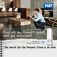 Find WD My Cloud today and Get Rewarded!!!