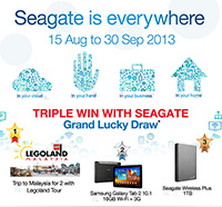 Seagate is Everywhere Promo