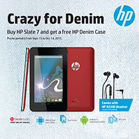 HP Crazy for Demin Promo
