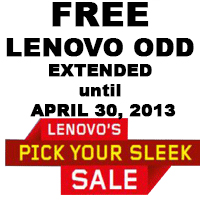 Lenovo Pick Your Sleek SALE!!!