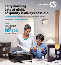 HP Ink Advantage Back to School Promo!!!