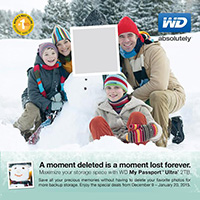 WD Holiday Promo 2014