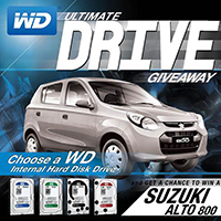 WD Ultimate Drive Giveaway